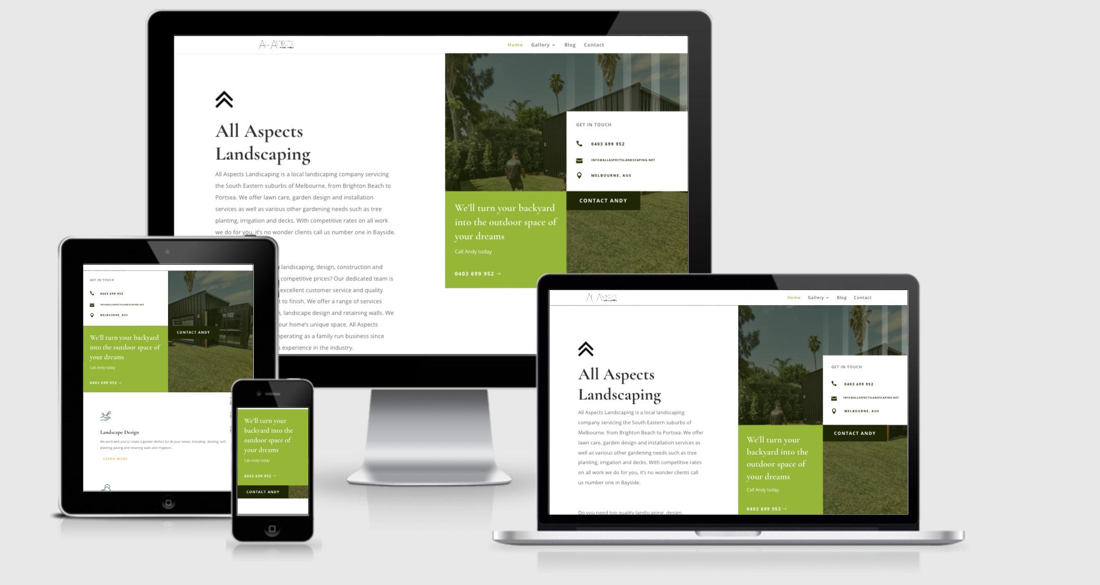 website designer Bayside